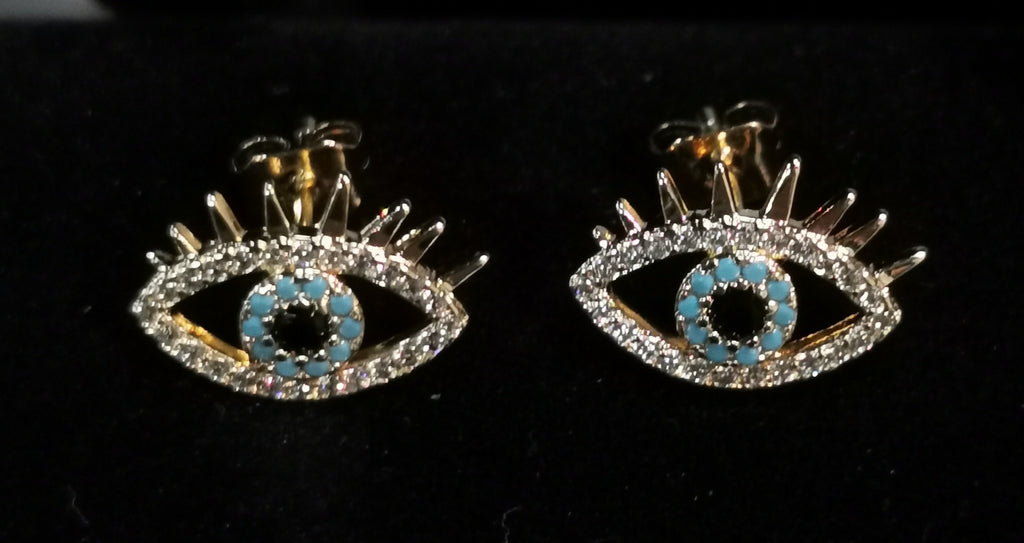Small Eye Earring Studs