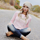 Hello Casual Lush Long Sleeve - Silverlining & Co