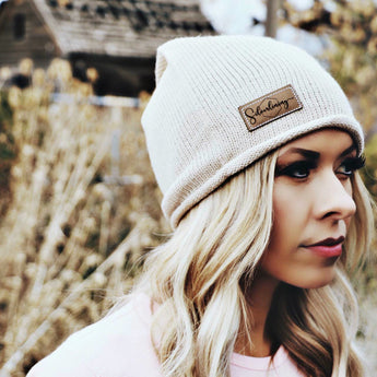 Oatmeal Signature Beanie - Silverlining & Co