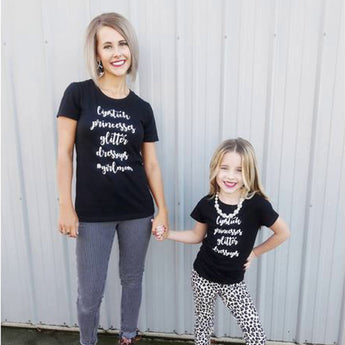 #GirlMom Tee - Silverlining & Co