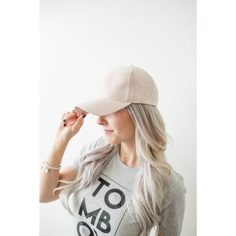 Blush baseball hat - Silverlining & Co