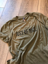 JUST BE NICE - Silverlining & Co