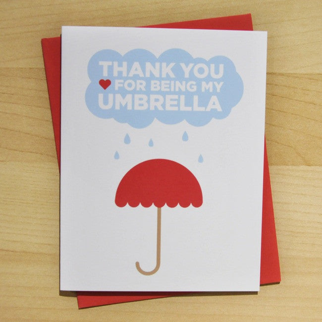 Thank You For Being My Umbrella - Pop + Shorty