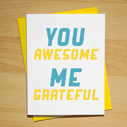 You Awesome, Me Grateful - Pop + Shorty
