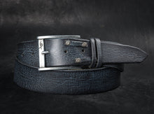 Two pieces belt - Black