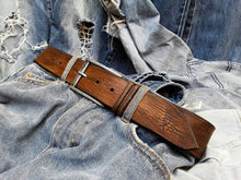 Vintage brown belt