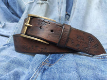 Brown Electric belt