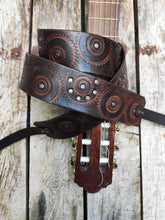 Motorcycle guitar strap