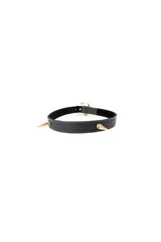 Monarch II - Leather Choker