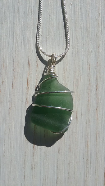 Jade Beachglass Necklace