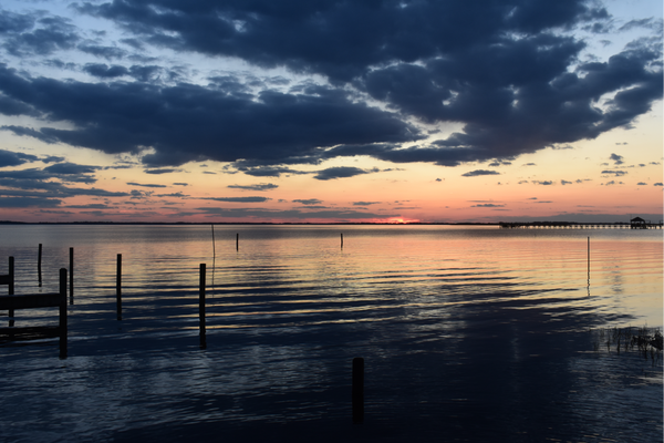 Currituck Sound Blue Hour