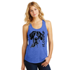 Womens #LovePup Great Dane Tank
