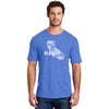 Men's #LoveUp Crew Neck Blue T-Shirt California State