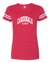 Womens #LoveUp Home NFL V Neck - Arizona