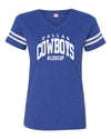 Womens #LoveUp Home NFL V Neck - Dallas