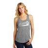 Womens #LoveUp Baseball Tank