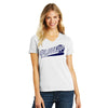 Womens #LoveUp Baseball V-Neck