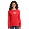 Unisex #LoveUp Home State Long Sleeve Maryland Red