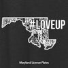 Unisex #LoveUp Home State Long Sleeve for Men & Women - Maryland