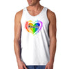 Mens #LoveUp Pride Tank