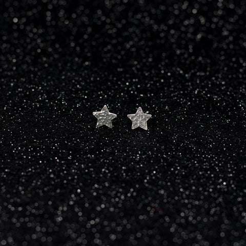 Asteria Hammered Studs - Small