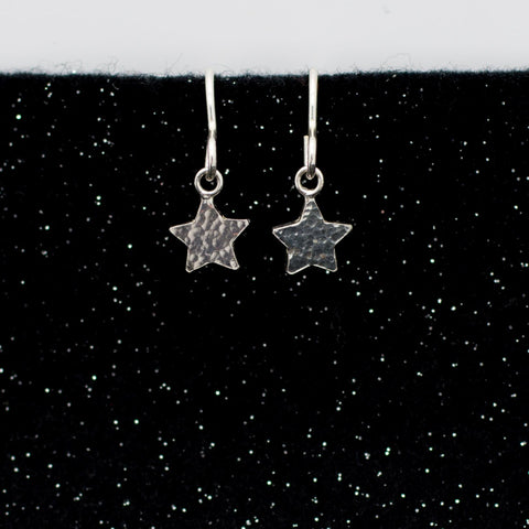 Asteria Hammered Earrings - Small