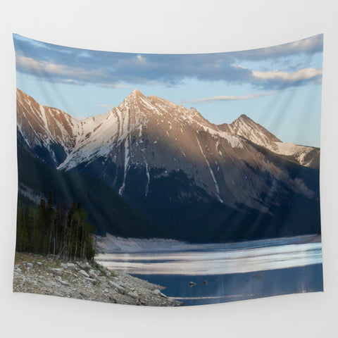Canadian Rocky Mountains Tapestry