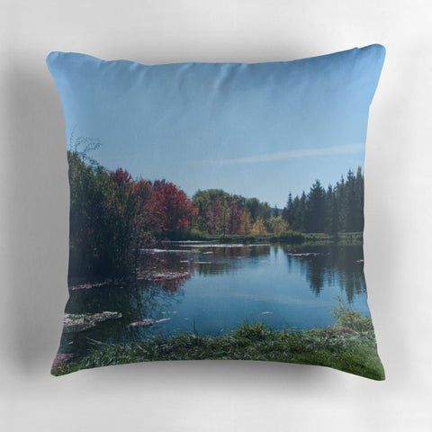 Fall Trees Pillow