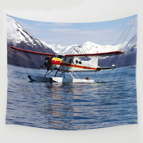 Float Plane Wall Tapestry
