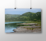 Kodiak Alaska Mountain Photo Print