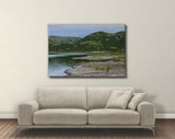 Alaskan Mountain Canvas Print