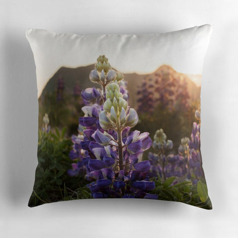 Alpine Mountain Pillow