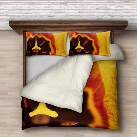 Yellow Tulip Bedding Set