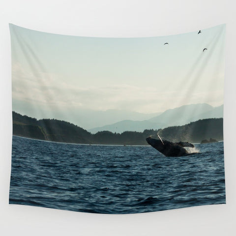 Whale Tapestry Home Decor