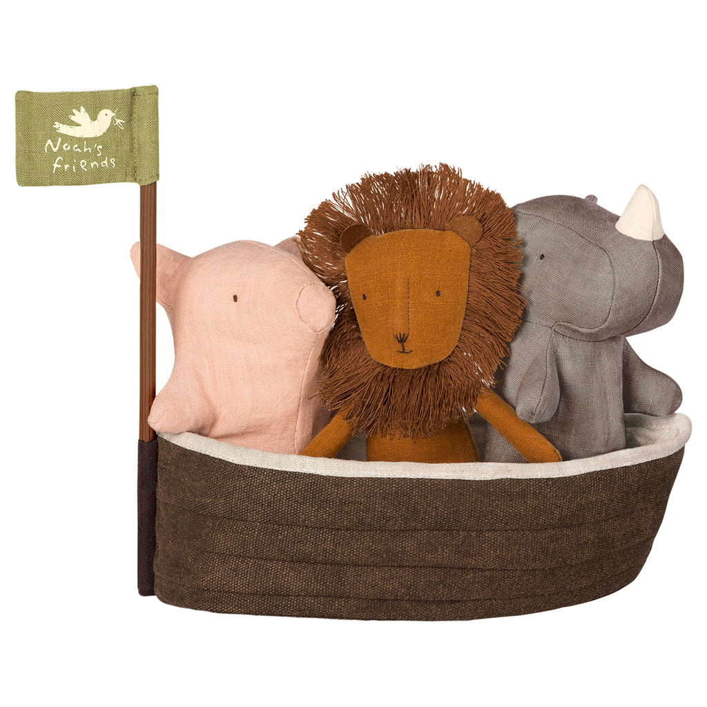 Maileg Noah`s Ark with 3 mini animals