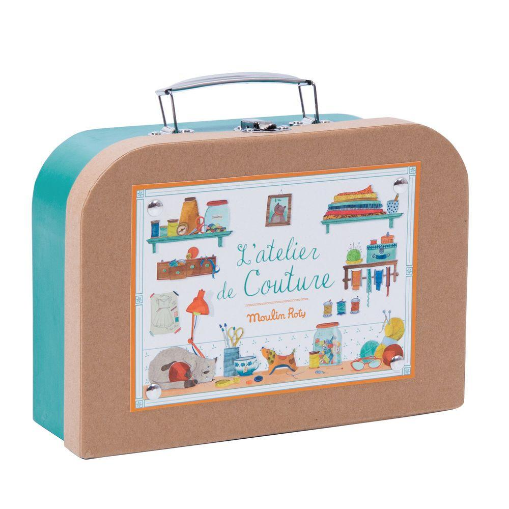 Moulin Roty Suitcase - Sewing Set