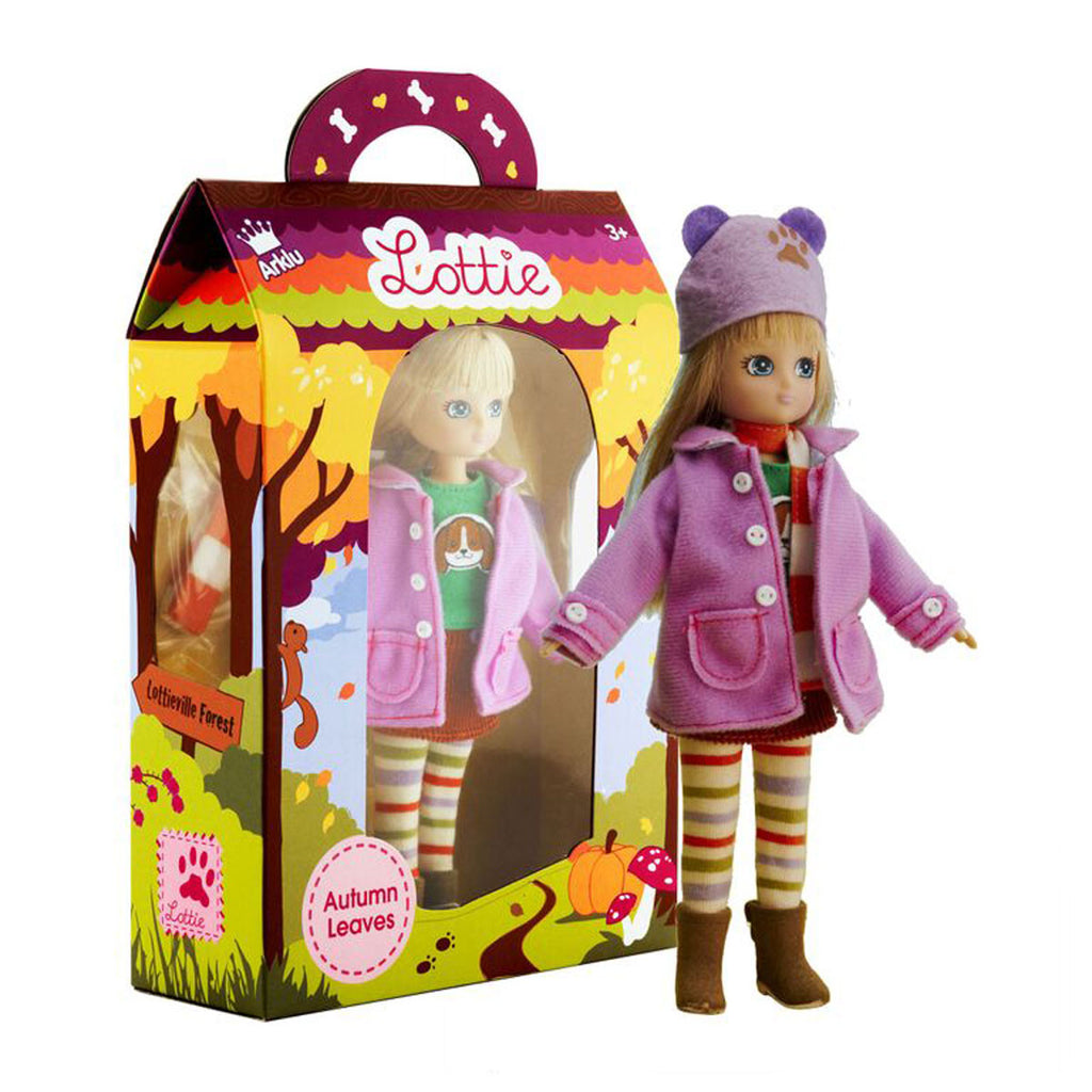Autumn Leaves Lottie Doll with Package LT002
