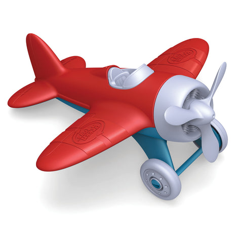BigJigs Toy- Green Toys Airplane BJGTAIRR1026