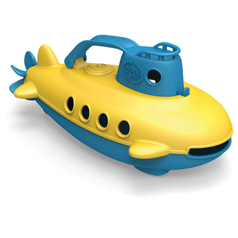 BigJigs Toy-Green Toys Submarine BJGTSUBB1032