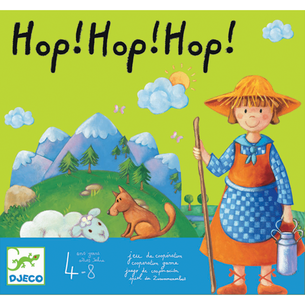 Hop! Hop! Hop! Game by Djeco