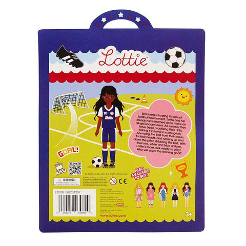 Girls United Lottie Outfit Back of Package LT038