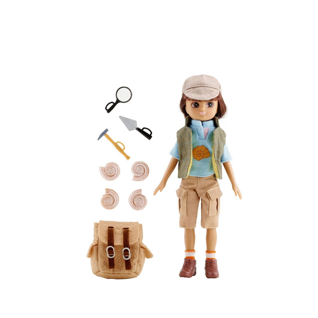 Fossil Hunter Lottie Doll with Accessories LT053
