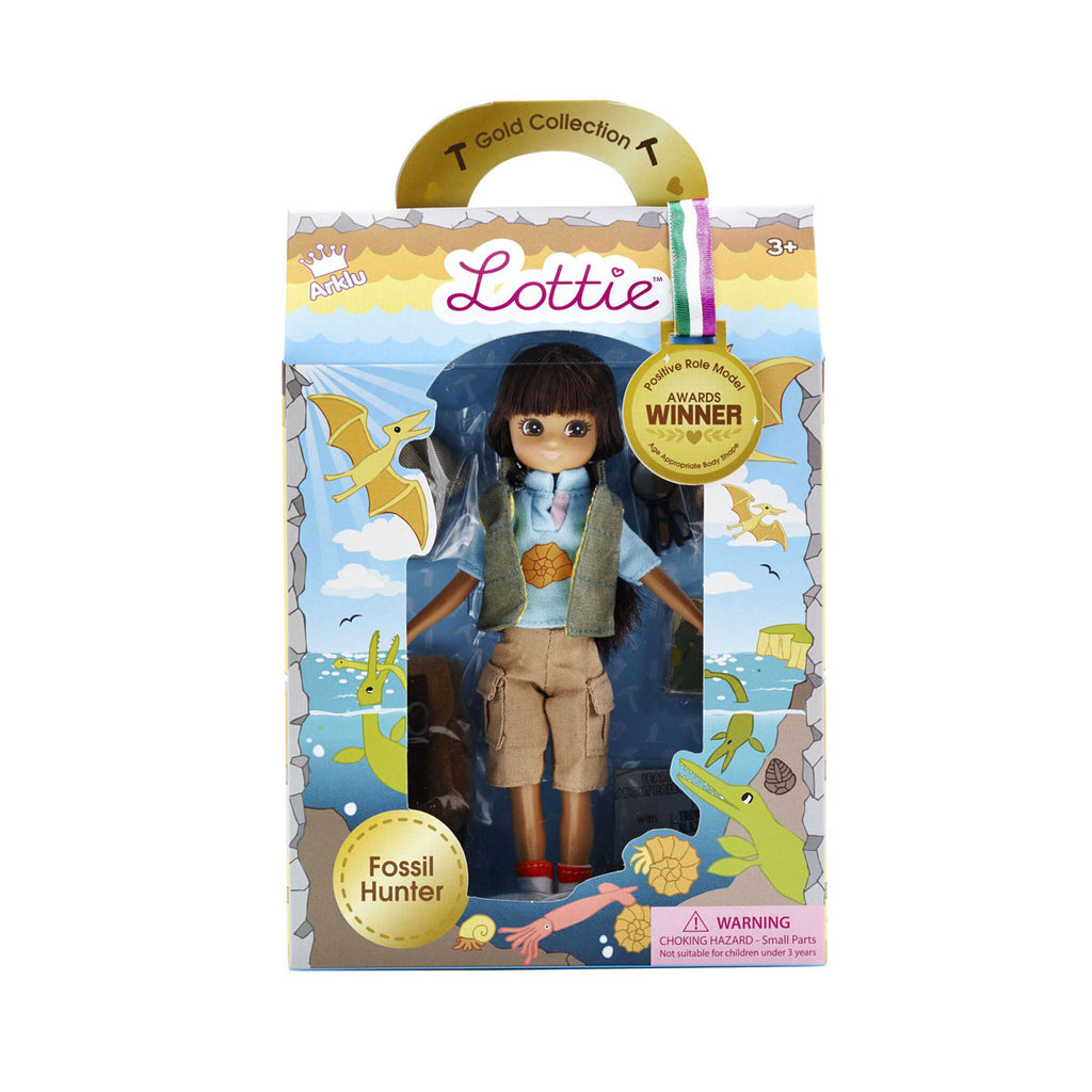 Fossil Hunter Lottie Doll Package LT053