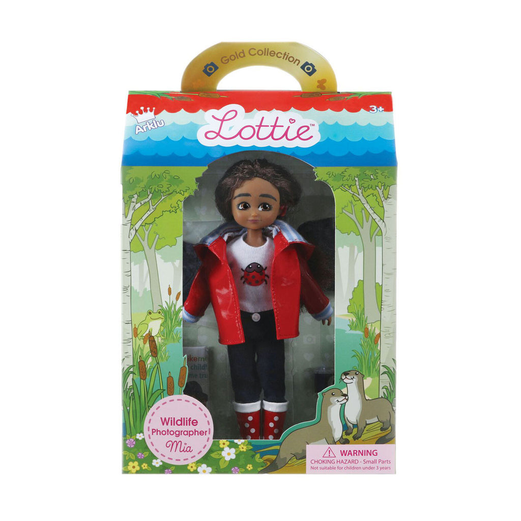 Wildlife Photographer Lottie Doll Package LT082