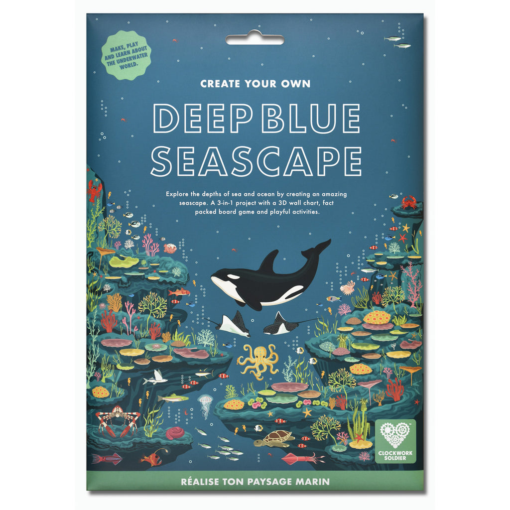 Deep Blue Sea Scape