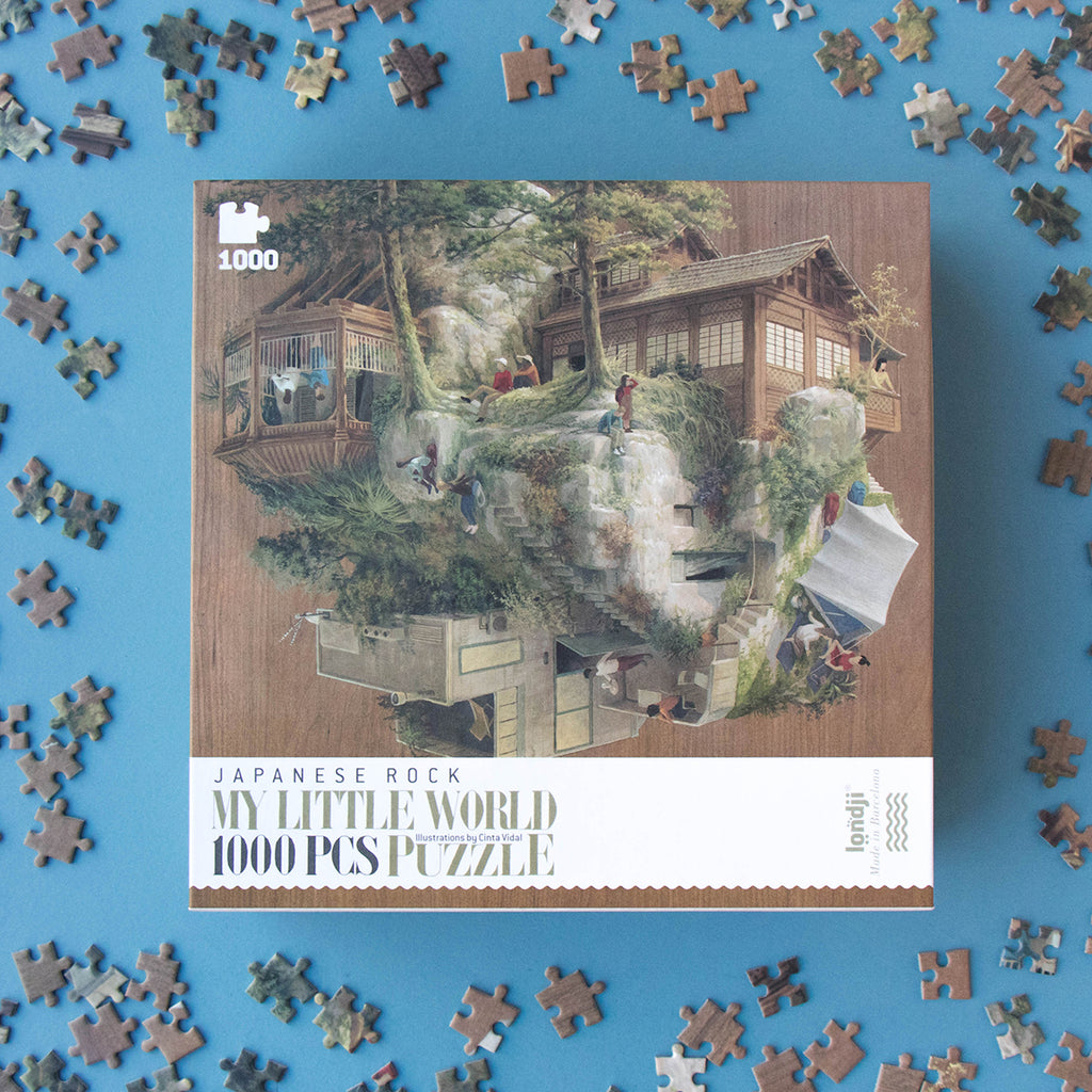 Japanese Rock 1000 piece Puzzle