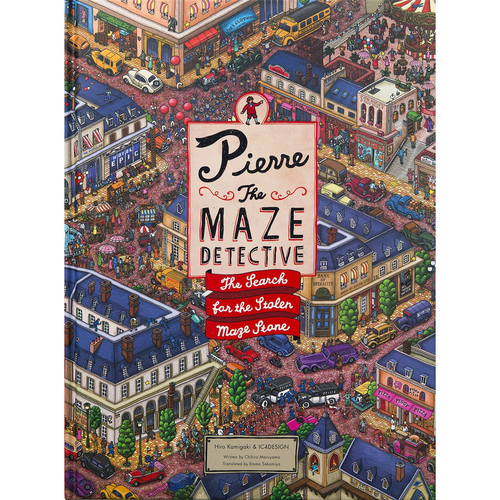 Pierre The Maze Detective Book Front Cover BOOK75633