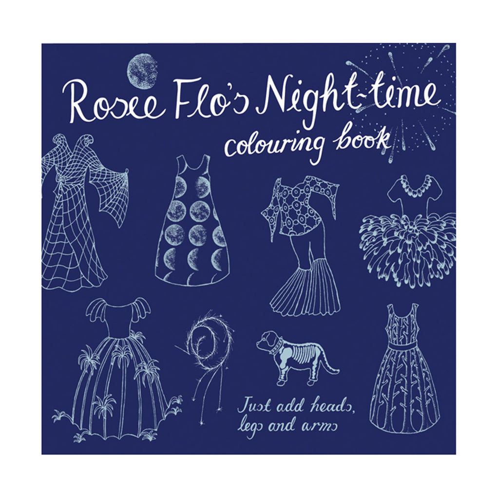 Rosie Arts & Crafts- Flo Night Time Colouring Box STNIGHT