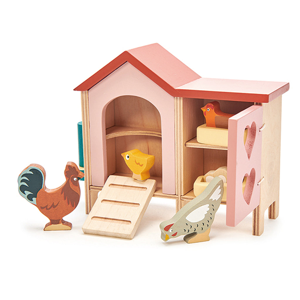 Tender Leaf Chicken Coop Set