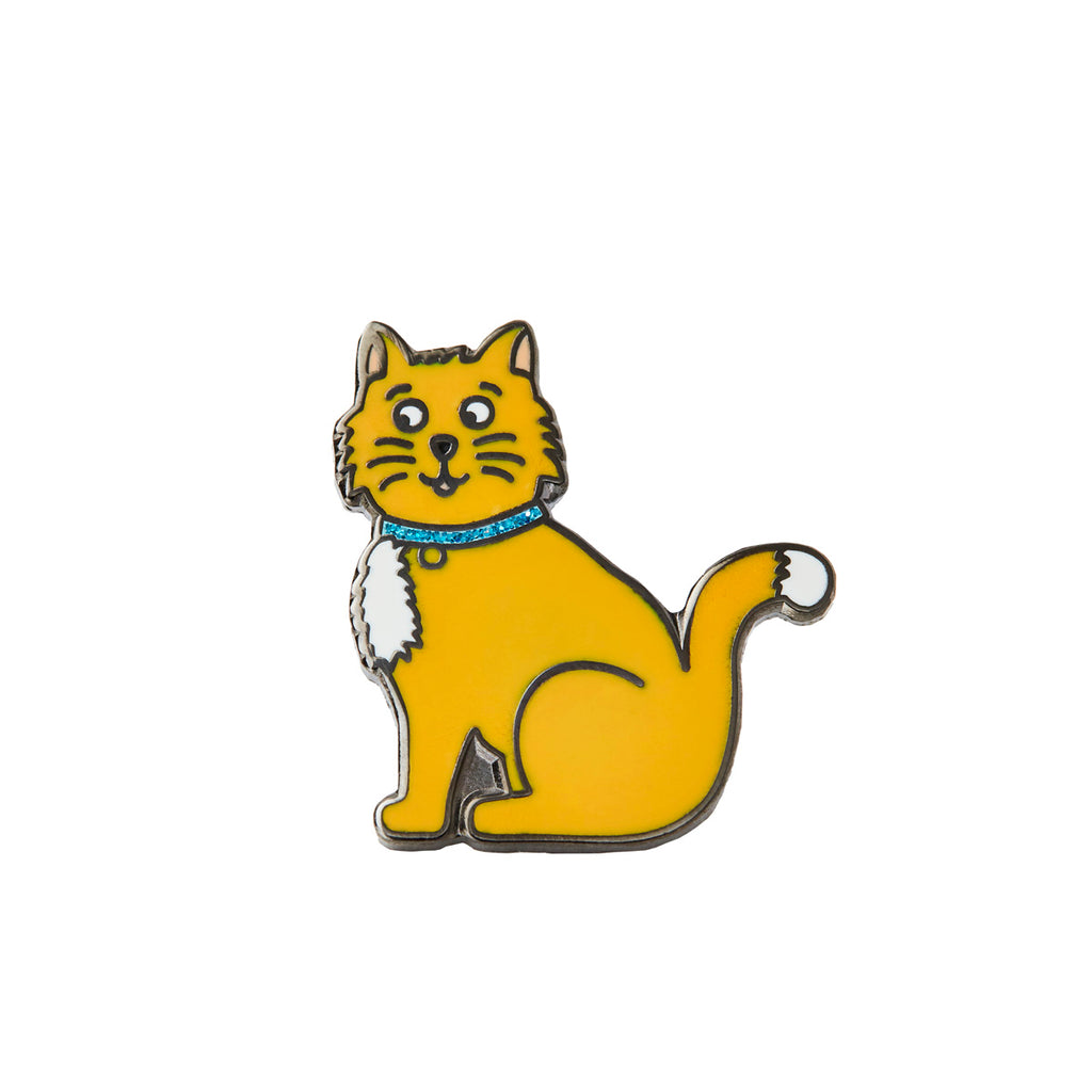 Ginger Cat Pin Badge